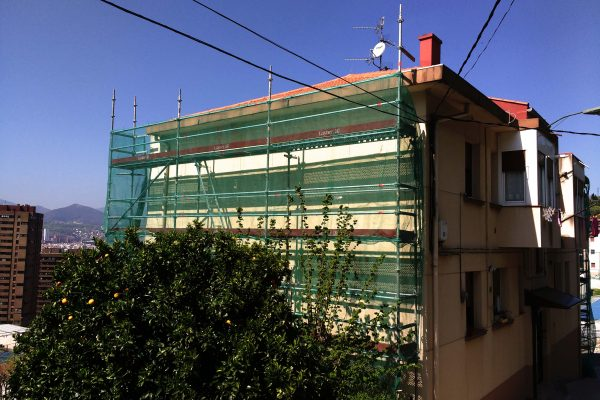 Rehabilitaciones de fachada mediante SATE