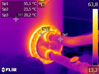 Termografías en edificación e instalaciones